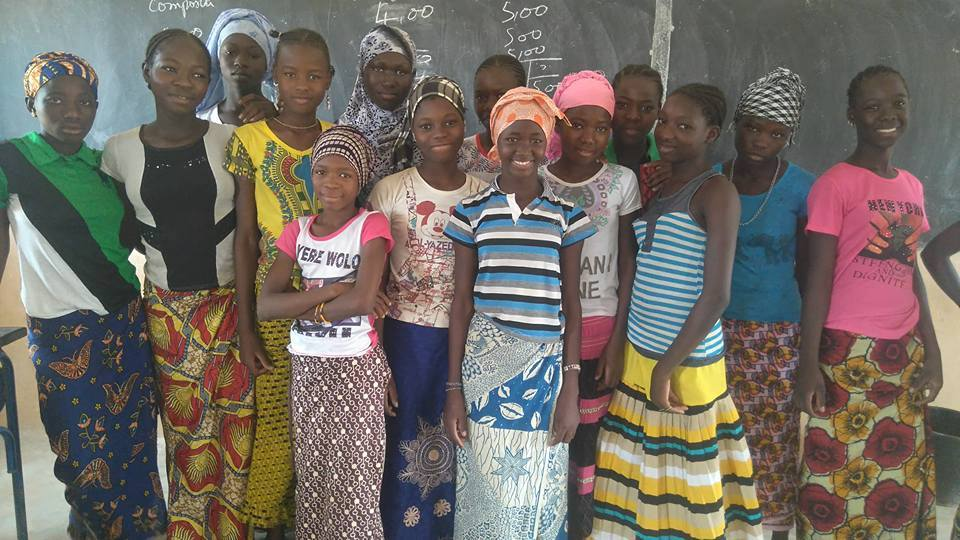 Students in Mali who recieve scholarships from School Girls Unite